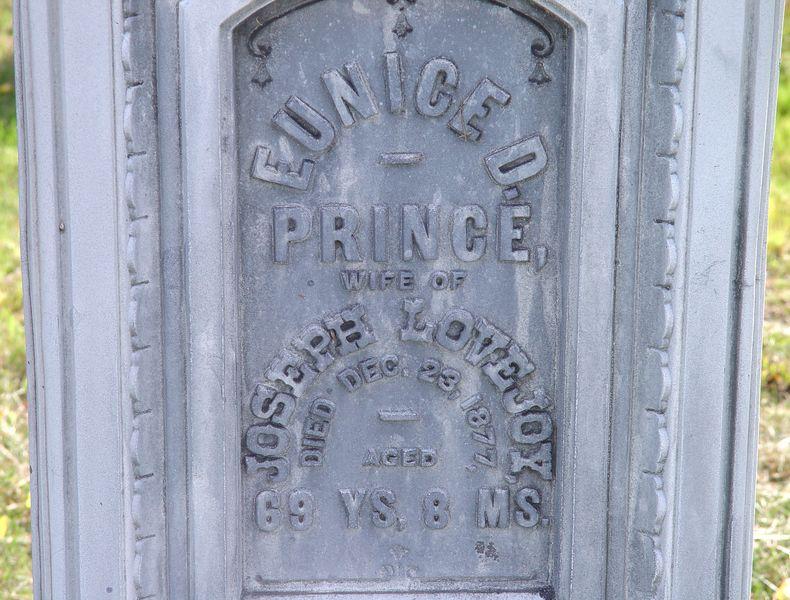 Eunice D <i>Prince</i> Lovejoy