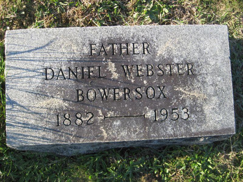 Daniel Webster Bowersox