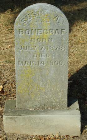 Susana Susan <i>West</i> Bonegraph Bonegraf