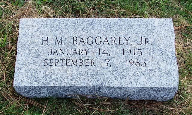 Herbert M. H. M. Baggarly, Jr