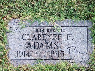 Clarence E Adams