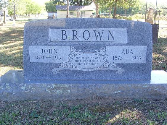 Ada Ellen <i>Bynum</i> Brown