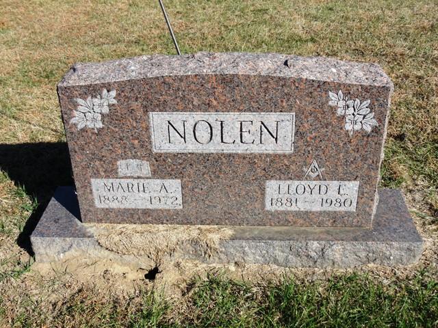Marie <i>Cahill</i> Nolen