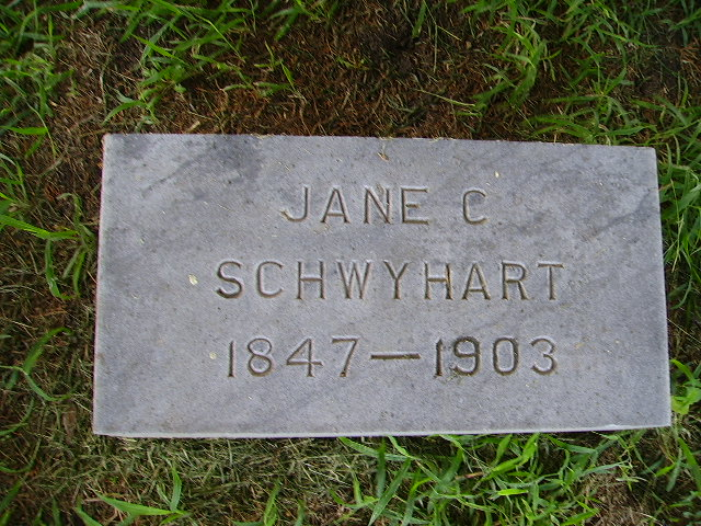 Jane C <i>Bush</i> Schwyhart