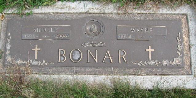 Mrs Shirley Jean <i>Horrigan</i> Bonar