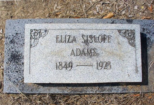 Eliza Sisloff Adams