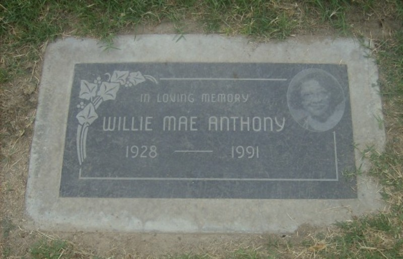 Willie Mae <i>Dawson</i> Anthony