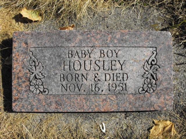 Baby Boy Housley