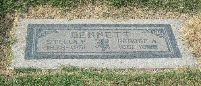 Stella F <i>Woodward</i> Bennett