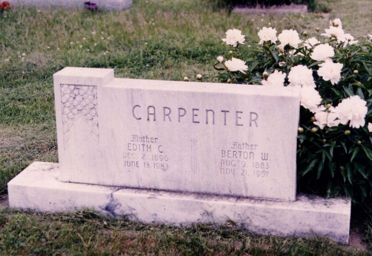 Edith Cora <i>Malstead</i> Carpenter