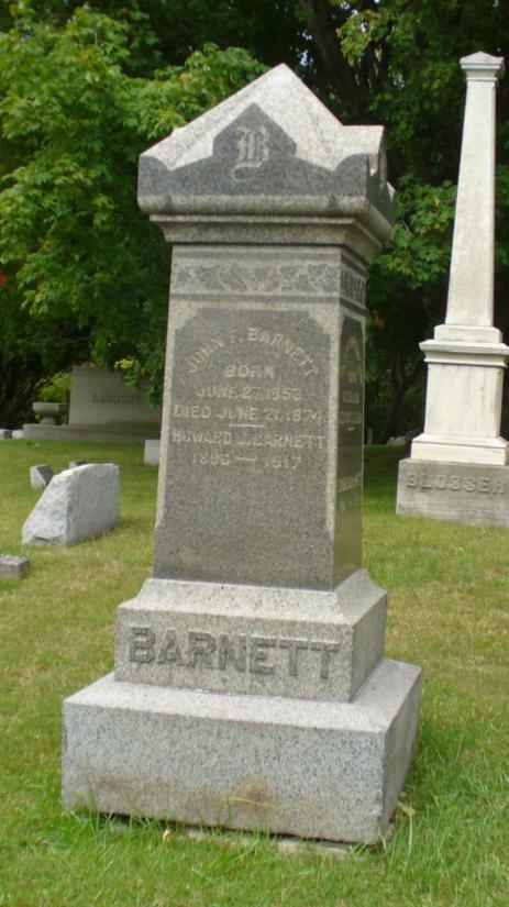 Florence M <i>Dobbins</i> Barnett