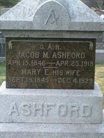 Jacob M. Ashford