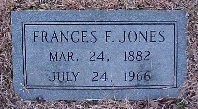 Frances <i>Fuller</i> Jones