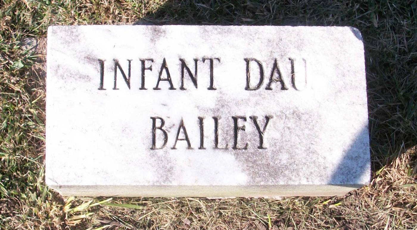 Infant Daughter Bailey