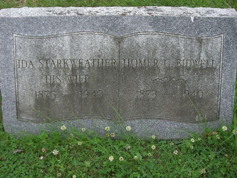 Ida <i>Starkweather</i> Bidwell