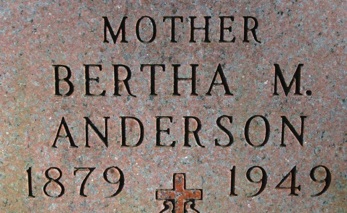 Bertha M. Anderson