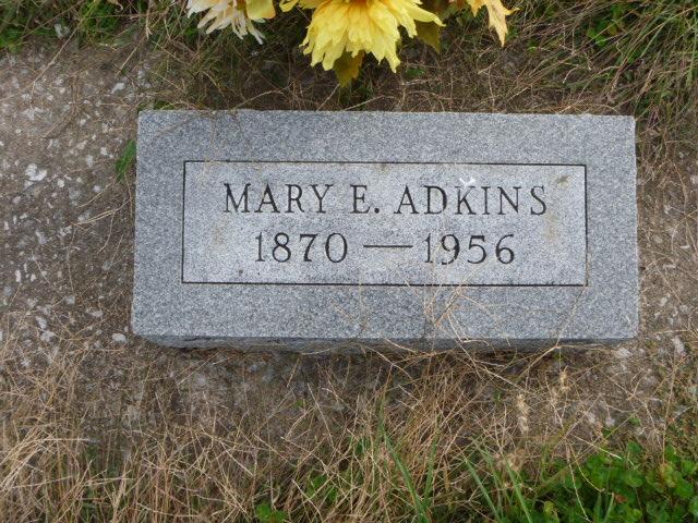Mary Ellen <i>Osgood</i> Adkins