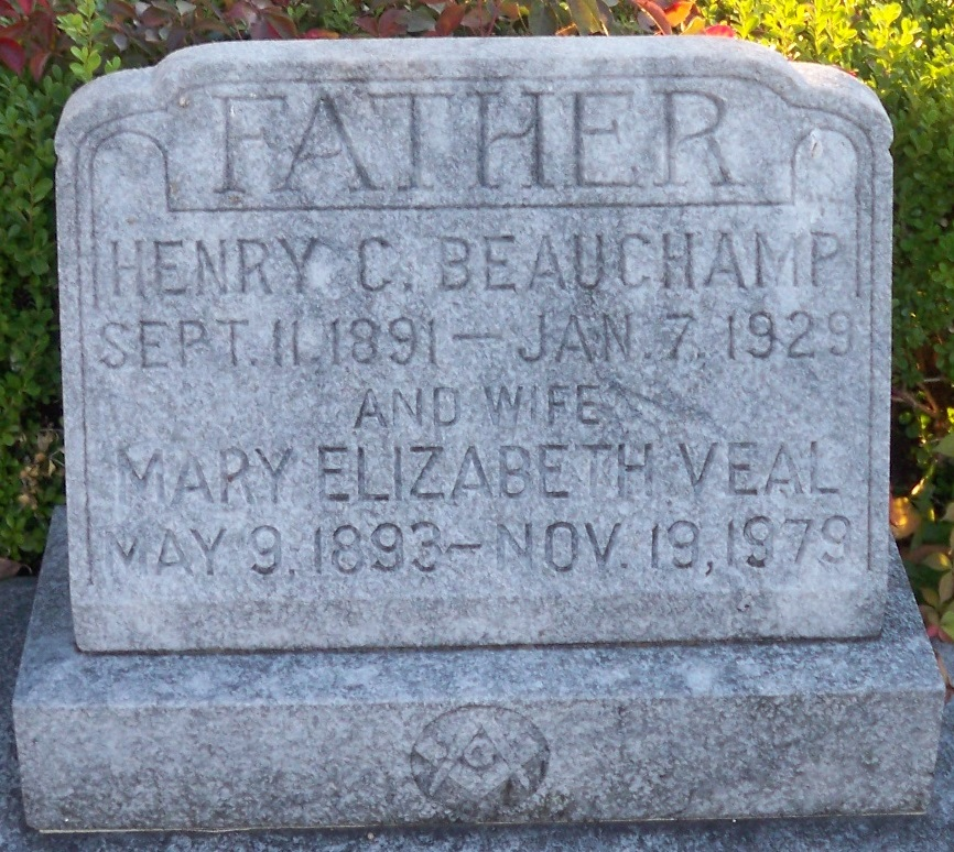 Mary Elizabeth <i>Veal</i> Beauchamp