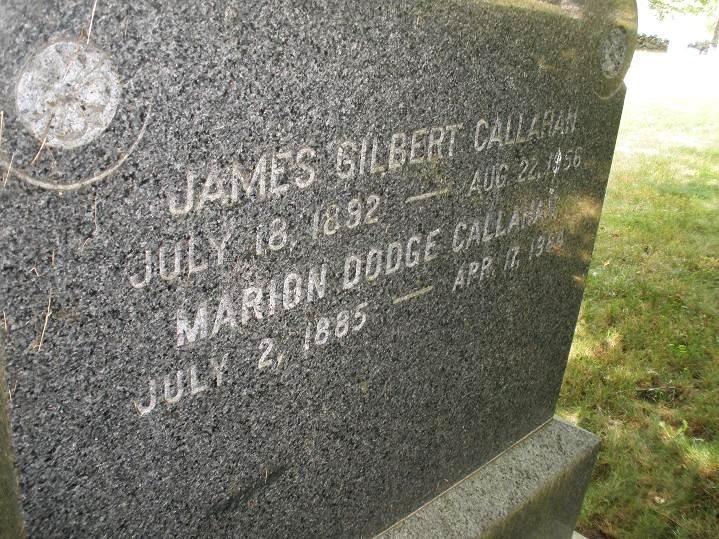 Marion Pingree <i>Dodge</i> Callahan