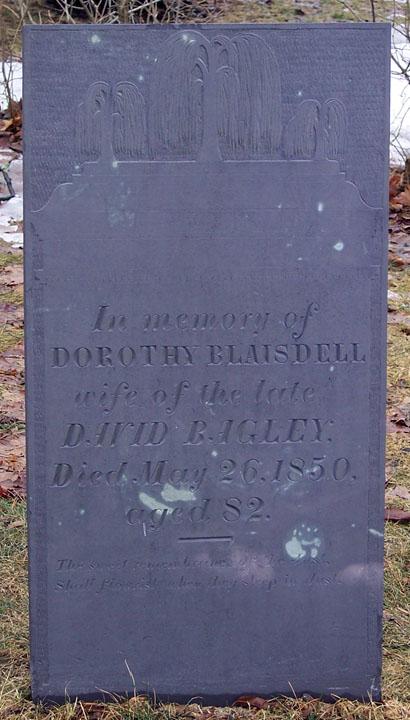 Dorothy <i>Blaisdell</i> Bagley