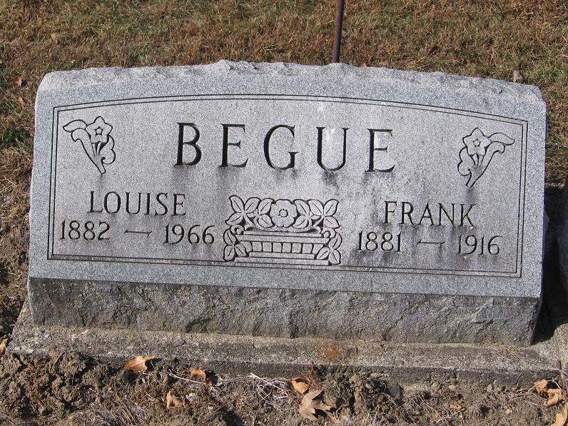 Louise Victoria <i>Reffelt</i> Begue