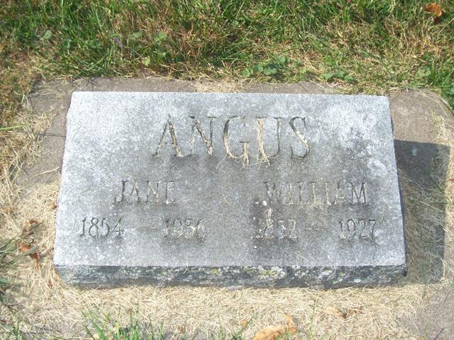 Jane <i>Haddick</i> Angus