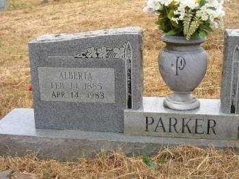 Alberta <i>Giddens</i> Parker
