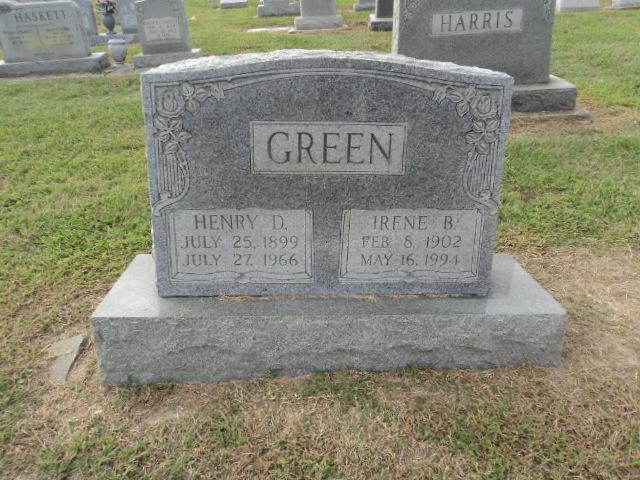 Irene <i>Bowen</i> Green