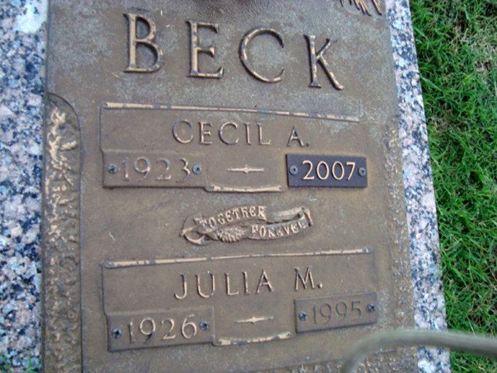 Cecil Albert Beck