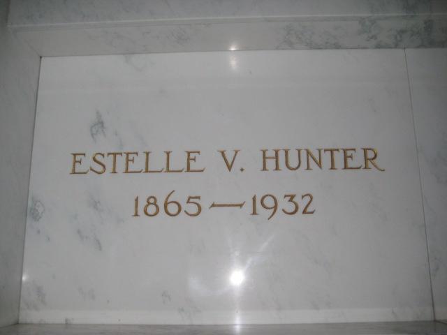 Estelle V <i>Buchannan</i> Hunter