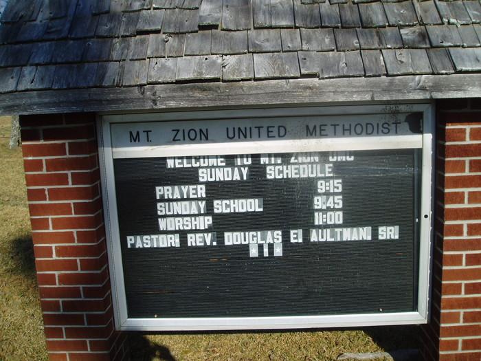 Mount Zion United Methodist Cemetery
