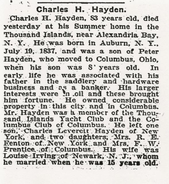 Charles Halleck Hayden