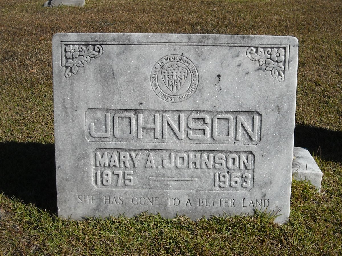 Mary A. <i>Dyer</i> Johnson