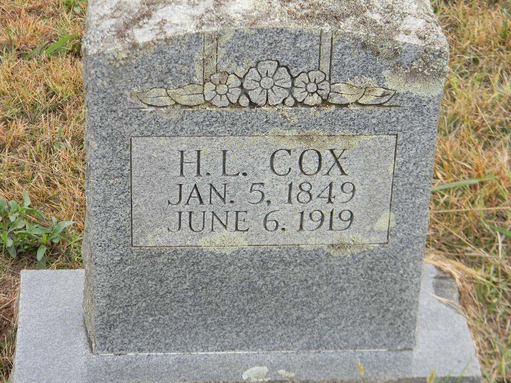 Houston Lafayette Cox 1849 1919 Find A Grave Memorial