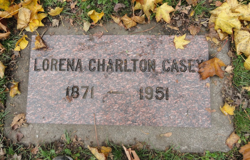 Lorena <i>Charlton</i> Casey
