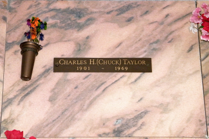 """Charles Hollis """"Chuck"""" Taylor (1901-1969) - Find A Grave Memorial 076d3f595"""