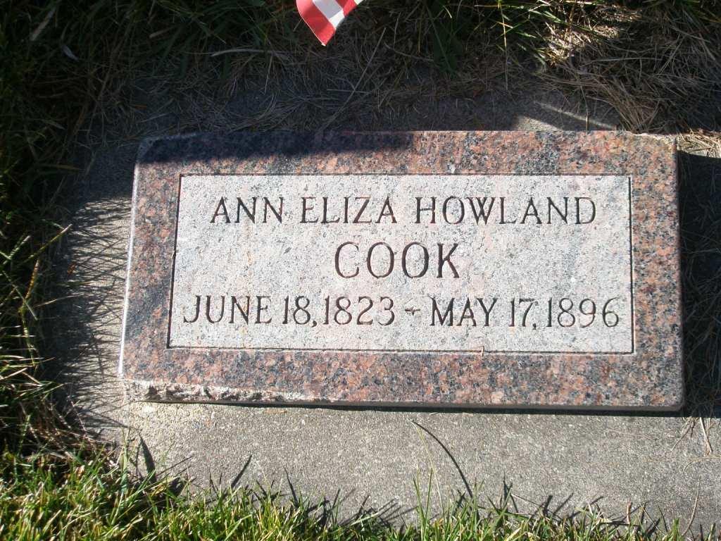 Ann Eliza <i>Howland</i> Cook