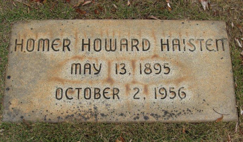 Homer Howard Haisten, Sr