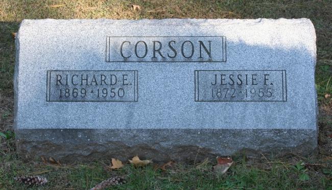 Jessie Curry <i>Fee</i> Corson
