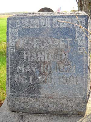 Margaret Finley <i>Johnson</i> Handlin