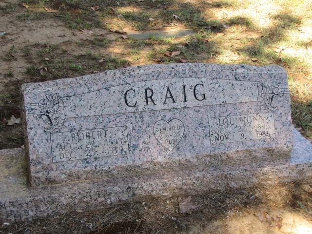 Lou <i>Nunn</i> Craig