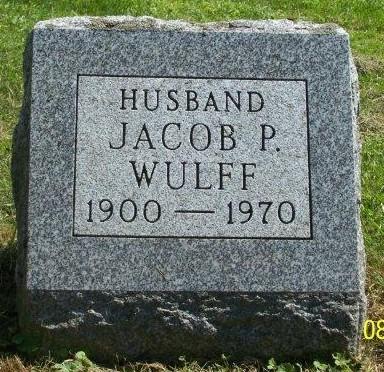 Jacob Peter Bartolomæi Wulff, III