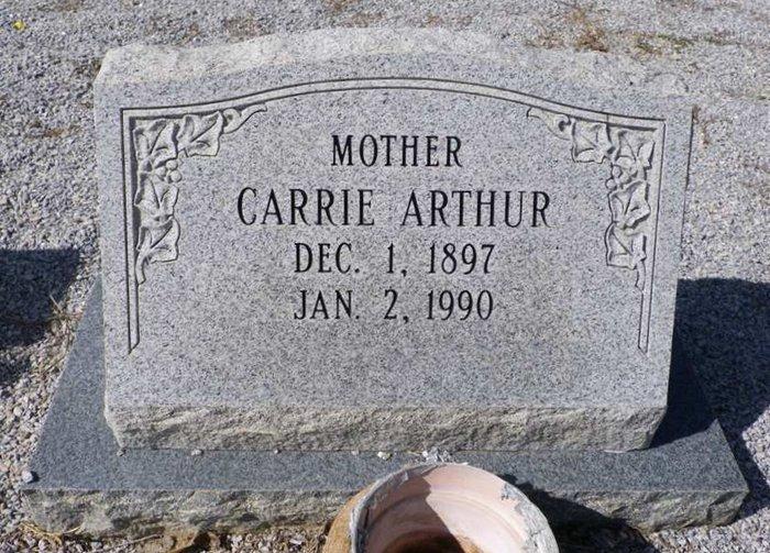Carrie Arthur