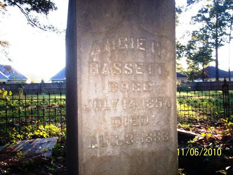Angelina H. Angie Bassett