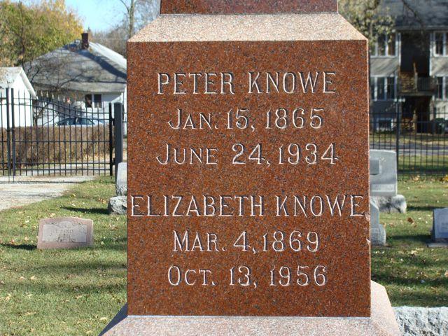 Elizabeth <i>Stoops</i> Knowe