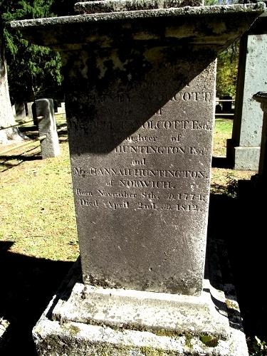 Mrs Betsey Elizabeth <i>Huntington</i> Wolcott