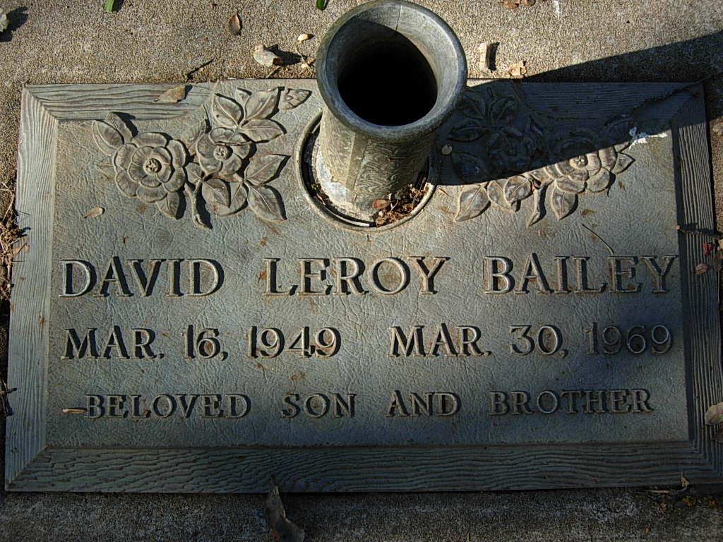David Leroy Bailey