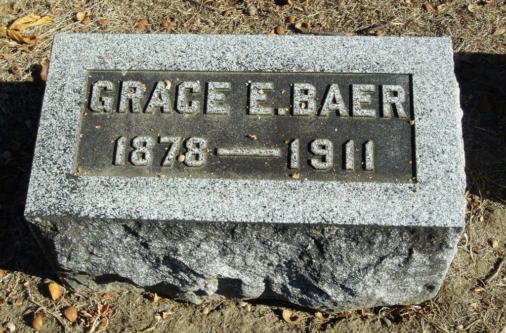 Grace <i>Eckman</i> Baer