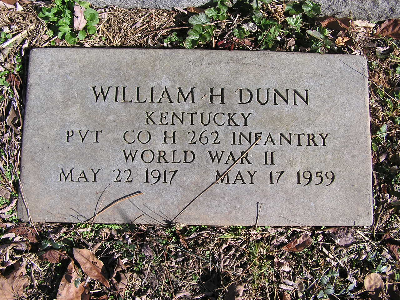 William Henry Dunn, Jr