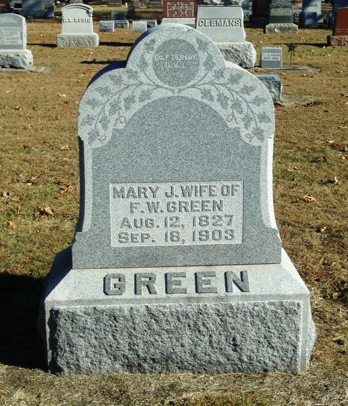 Frederick W Green